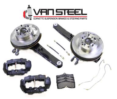 1963-64 Rear Drum Brake Conversion Kit